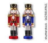 realistic nutcracker soldier... | Shutterstock .eps vector #1625814961