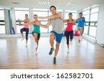 full length portrait of fitness ... | Shutterstock . vector #162582701