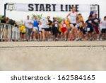 marathon  starting line ...   Shutterstock . vector #162584165