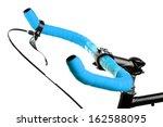 detail on a handlebar of a... | Shutterstock . vector #162588095