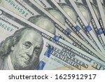 pile of one hundred us dollar... | Shutterstock . vector #1625912917