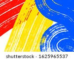 primary color paint  brush...   Shutterstock . vector #1625965537