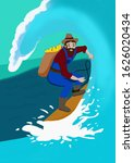 surfing. people today go in for ...   Shutterstock . vector #1626020434