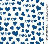 vector seamless pattern happy... | Shutterstock .eps vector #1626023434
