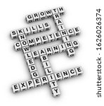 personal skills concept word...   Shutterstock . vector #1626026374