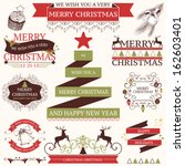 vector collection of graphic...   Shutterstock .eps vector #162603401