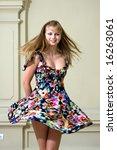 portrait of the beautiful girl... | Shutterstock . vector #16263061