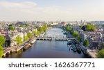 Amsterdam  Netherlands. Flying...