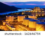 oil tanks for cargo service at... | Shutterstock . vector #162646754