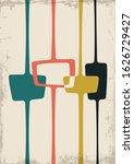 mid century modern style...   Shutterstock .eps vector #1626729427