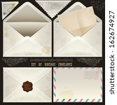 set of vintage design elements... | Shutterstock . vector #162674927