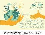 ecological illustration. in... | Shutterstock .eps vector #1626761677