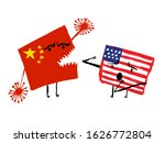 grunge hand drawn illustration... | Shutterstock .eps vector #1626772804
