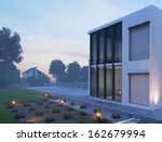 Modern House Exterior With...