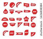 new label collection set. sale...   Shutterstock .eps vector #1626838384