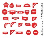new label collection set. sale... | Shutterstock .eps vector #1626838414