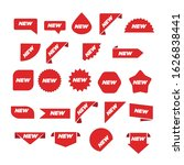 new label collection set. sale...   Shutterstock .eps vector #1626838441