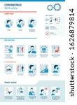 symptoms  prevention and travel ... | Shutterstock .eps vector #1626879814