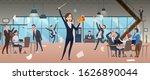 angry female boss. deadline...   Shutterstock .eps vector #1626890044