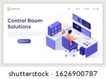 landing page template with man...   Shutterstock .eps vector #1626900787