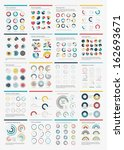 infographic elements.big chart... | Shutterstock .eps vector #162693671