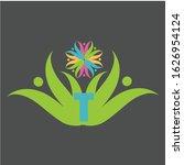 letter t logo design vector icon | Shutterstock .eps vector #1626954124