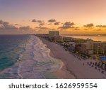 Amazing Sunset Aerial Photo In...