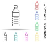 plastic oil bottle multi color...