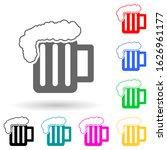 alcohol consumption multi color ...