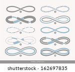 set of ten limitless icon | Shutterstock .eps vector #162697835
