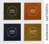 gradient plate music album...   Shutterstock .eps vector #1627020511