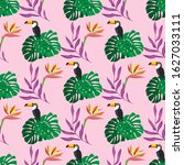 seamless pattern with fantastic ...
