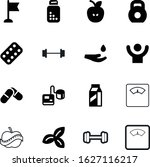 Fitness Vector Icon Set Such A...