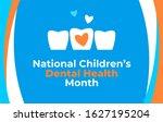 national children s dental... | Shutterstock .eps vector #1627195204