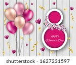 happy valentines day discount...   Shutterstock .eps vector #1627231597