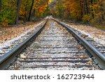 Shiny Steel Railroad Tracks...