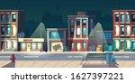 ghetto street at night  slum... | Shutterstock .eps vector #1627397221