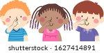 illustration of kids students... | Shutterstock .eps vector #1627414891