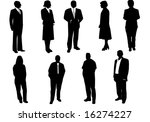 black people | Shutterstock .eps vector #16274227