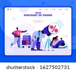 discounts of goods landing page ...