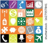 set of 25 business high quality ... | Shutterstock .eps vector #1627557841