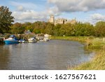 River Arun And Castle At...