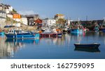 mevagissey harbour on the south ...