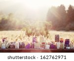 cold processed handcrafted soap ... | Shutterstock . vector #162762971