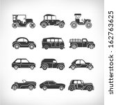 Classic Cars  Vintage Car Icons