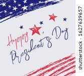 happy presidents day design... | Shutterstock .eps vector #1627639657