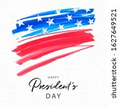 happy presidents day holiday... | Shutterstock .eps vector #1627649521