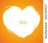 Heart Background Smear Paint...