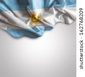 Small photo of Waving flag of Argentina, Latin America
