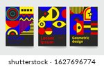 cool geometric backgrounds for...   Shutterstock .eps vector #1627696774